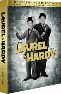 LAUREL & HARDY THE ESSENTIAL COLLECTION New Sealed 10 DVD Set 32 Hours
