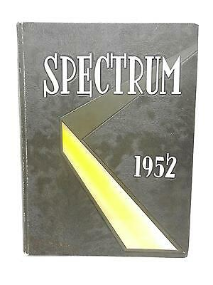 1952 Gettysburg College PA Annual Yearbook THE SPECTRUM
