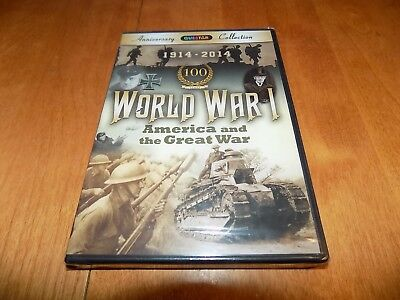 WORLD WAR I America and The Great War WWI One Battles History DVD SEALED NEW