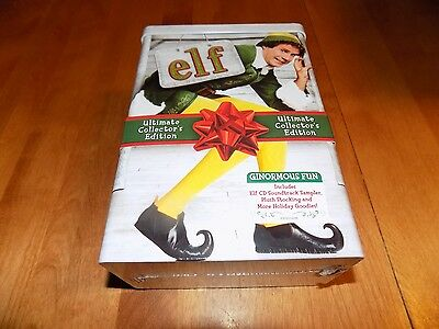 ELF Christmas Classic Will Ferrell Ultimate Collector's Edition DVD SET TIN NEW