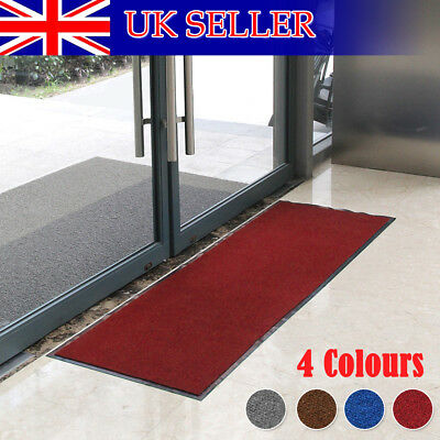 New Heavy Duty Non Slip Rubber Barrier Mat Large&small Rugs Back Door Kitchen UK