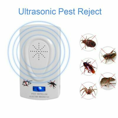 Ultrasound Pest Reject Mouse Cockroach Repeller Control Anti Insect Mosquito New