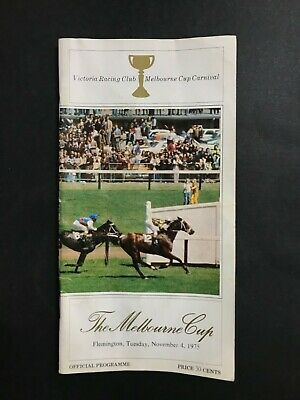 Race Book Vrc 1975 Melbourne Cup Meeting, Think Big 2Nd Cup Win