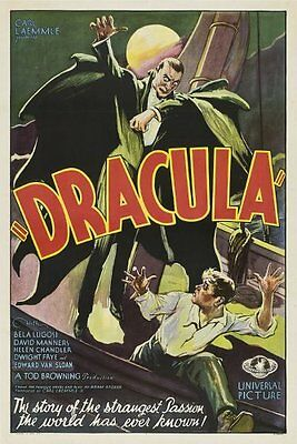 Poster A3 Dracula Love Never Dies Pelicula Film Cartel Decor Impresion 01