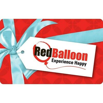 SELLING FOR $250!!!! ONO -Red Balloon $300 Gift Voucher Card - EMAIL DELIVERY -
