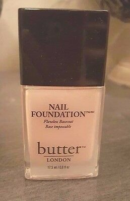 BUTTER LONDON NAIL Foundation Flawless Basecoat NEW! - $32.99   PicClick