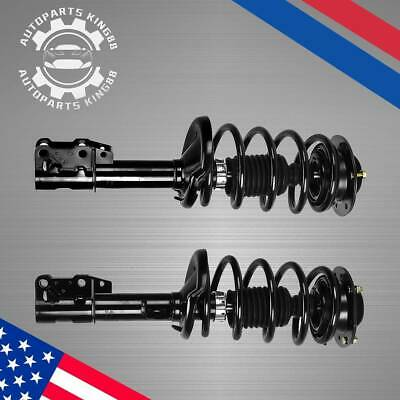 Front Rear Complete Struts w/Springs Assembly and Shocks For 1998-2010 VW Beetle