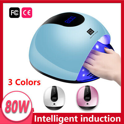 Nail Lamp UV LED Gel Nail Dryer FAST Gel Manicure Curing Manicure Machine System