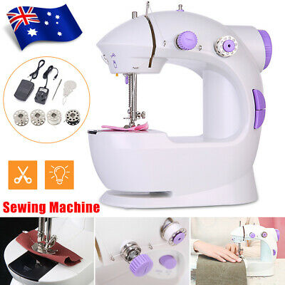 Electric Mini Portable Handheld Cordless Sewing Machine Hand Held Stitch Clothes