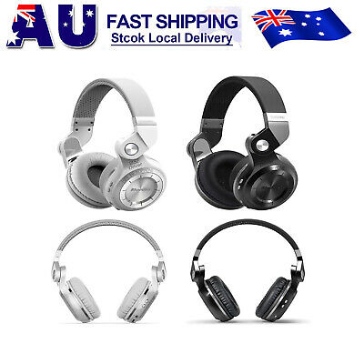 NEW Bluedio T2S Wireless iPhone Headphones Bluetooth 5.0Stereo Headsets with Mic