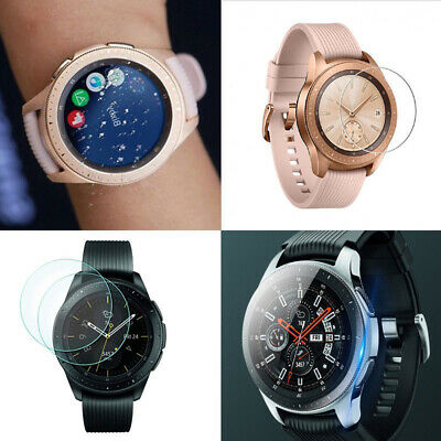 9H Clear Tempered Glass Screen Protector Film For Samsung Galaxy Watch 46mm 42mm