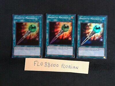 YU-GI-OH SUPER RARE BAGUETTE MAGIQUE INCH-FR054 NEUF EDITION 1