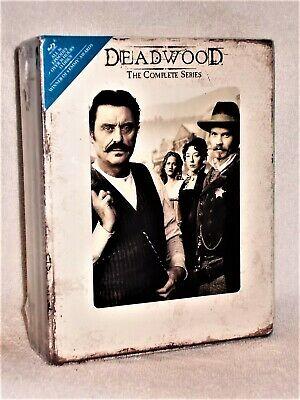 Deadwood - The Complete Series (Blu-ray, 2013, 13-Disc) Ian McShane Molly Parker