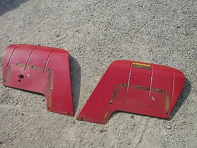 Farmall Cub 184 185 Tractor IH pair/set of EXCELLENT Original IHC IH fenders