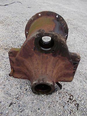 Farmall IH B tractor left side main axle drop housing