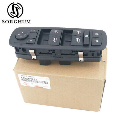 New Master Power Window Switch For Chrysler Town & Country 2008-2009 68039999AA