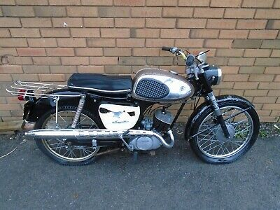 SUZUKI K11P 80cc MOTORBIKE1964BLACK JUST 3K FRESH US IMPORT NO RES