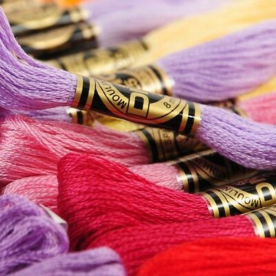 Free S&H Dmc 117 Embroidery Floss 120 Skeins 8.7 Yards Of 6 Strands Pick U Color
