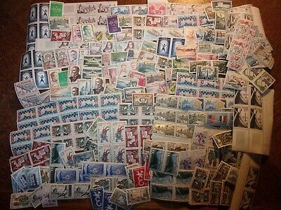 France Lot Timbres Neufs Faciale + De 6400 Francs