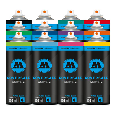 Molotow Coversall acrílico 12 Pack