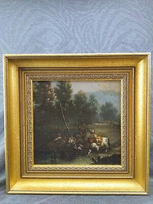 Very Fine 18th Century Old Master Landscape Oil Painting English Or Continental