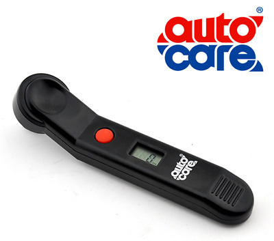 AutoCare - Digital Tyre Air Pressure Gauge Tester Inc Batteries Car & Motorcycle