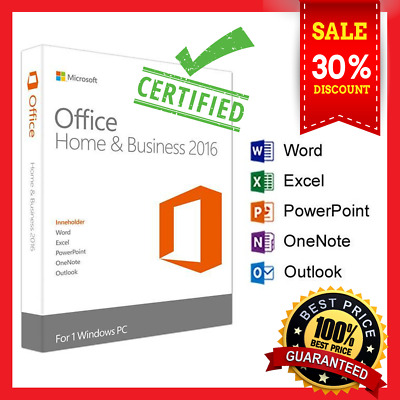 Microsoft Office 2016 🔥Windows 🔥 Volume License 🔑Instant Delivery (30s) 📩