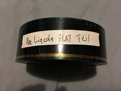Used Flat Abraham Lincoln Vampire Hunter 35MM Film Trailer