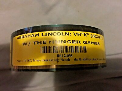 Used Scope Abraham Lincoln Vampire Hunter 35MM Film Trailer