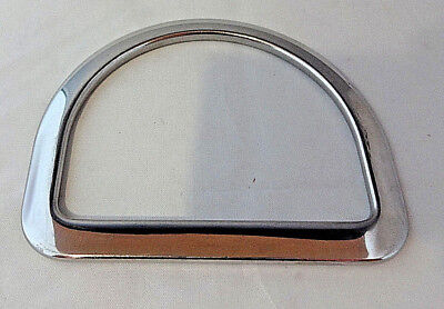 """Rigging Saddle Dee 3 1/2"""" Hardware Tack Horse Breast Collar Stainless Steel New"""