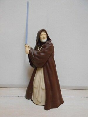 Star Wars Action Figure Obi Wan Kenobi W/Light Saber Jedi Knight Toy Figure
