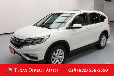 2015 Honda CR-V EX-L Texas Direct Auto 2015 EX-L Used 2.4L I4 16V Automatic FWD SUV