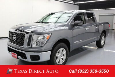 2018 Nissan Titan SV Texas Direct Auto 2018 SV Used 5.6L V8 32V Automatic 4WD Pickup Truck