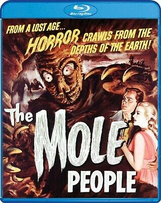 THE MOLE PEOPLE New Sealed Blu-ray 1956 John Agar