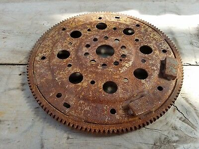 "14 1/4""   Industrial Machine Flywheel Ring Gear Steampunk  Metal Art base (#64)"
