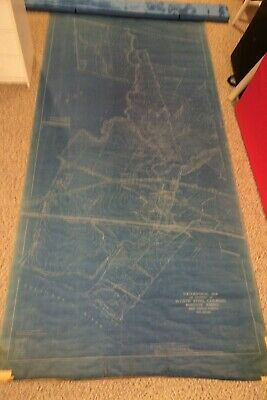 Vintage 1917 Topographical Map,Worth Steel Co.,Claymont Delaware,Phoenix Forge