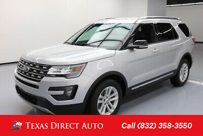 2016 Ford Explorer XLT Texas Direct Auto 2016 XLT Used Turbo 2.3L I4 16V Automatic FWD SUV Premium