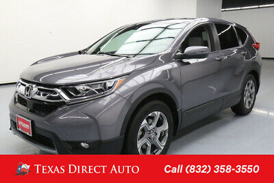 2017 Honda CR-V EX-L Texas Direct Auto 2017 EX-L Used Turbo 1.5L I4 16V Automatic FWD SUV