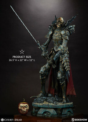 Sideshow Court of the Dead Mortighull Risen Reaper General Premium Format Statue