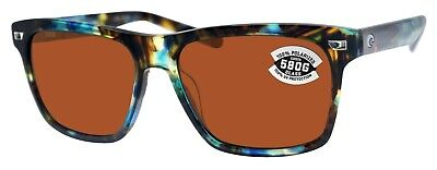 d68415413108e COSTA DEL MAR Fathom Global Fit Polarized Sunglasses Tortoise Copper ...