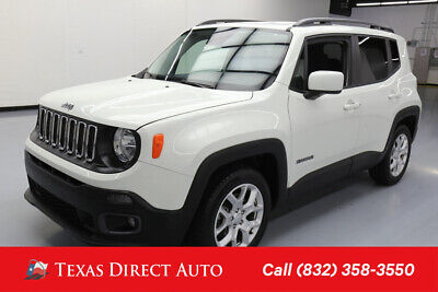 2017 Jeep Renegade Latitude Texas Direct Auto 2017 Latitude Used 2.4L I4 16V Automatic FWD SUV Premium