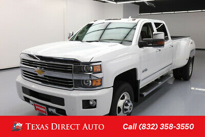 2015 Chevrolet Silverado 3500 High Country Texas Direct Auto 2015 High Country Used Turbo 6.6L V8 32V Automatic 4WD Pickup