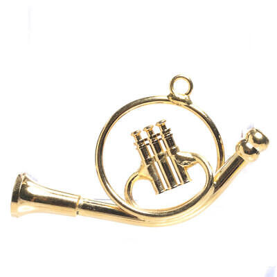 Factory Direct Craft Solid Brass Miniature French Horns | 2 Horns