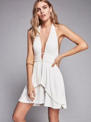 4acbf16669 FREE PEOPLE FP Beach Ballet Fit and Flare Lace Up Back Dress Small ...