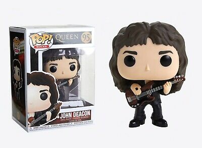 Funko Pop Rocks: Queen - John Deacon Vinyl Figure Item #33728