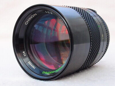 SUPERB CHINON 135MM F2 8 M42 LENS CAN FIT PENTAX K, CANON EOS, EF, DIGITAL