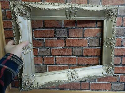 """REALLY old picture frame WOOD  fits a 18 inch X 13 """" painting"""