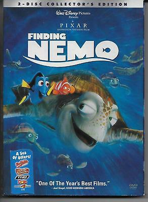 Dvd 2-Disc Collector's Edition Walt Disney Presents Finding Nemo