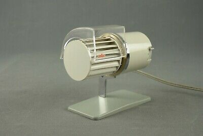Vintage BRAUN HL1 Desk FAN REINHOLD WEISS Germany Modernist 60s 70s 80s