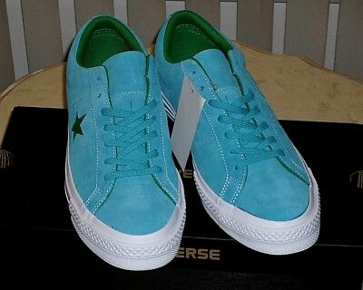 d6a36d074d4795 Mens Converse One Star OX Sz 11 Pinstripe Low HAWAIIAN OCEAN JOLLY GREEN  159813C
